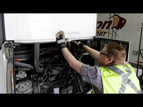 Refrigerated Trailer Pre-Trip Demonstration (Carrier & Thermo King)