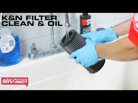 How To Clean and Oil ATV and UTV K&N Air Filters