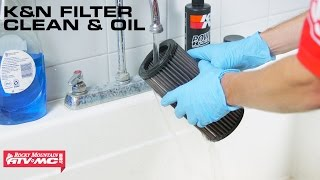 how to clean and oil k air filters