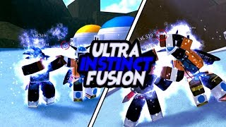 Greatest Ultra Instinct Fusion | Dragon Ball Z Final Stand T.O.P Update | Roblox | iBeMaine