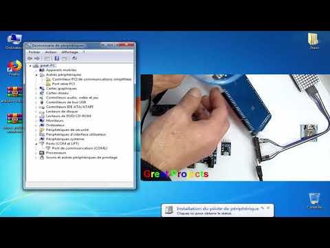Arduino Windows USB Driver Installation Ch340