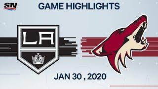 NHL Highlights  Kings vs. Coyotes – Jan. 30 2020