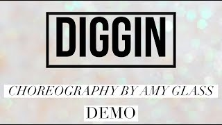 DIGGIN line dance demo, choreography by Amy Glass