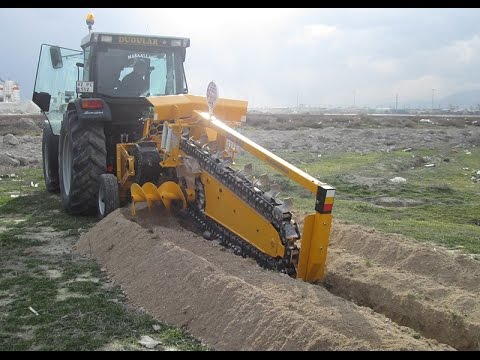 Trenching Machines Manufacturer Turkey Trenchers