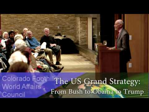 "Tom Farer - ""The US Grand Strategy:  from Bush to Obama to Trump"""