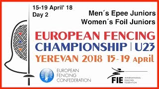 Day 02 2018 European fencing championships U23 - Red