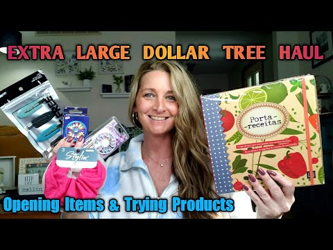 Extra Large Dollar Tree Haul | All New Items | July 1
