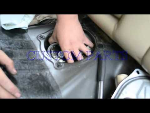 How To Install  Replace A Fuel Pump Assembly  Back Seat (Copyright © Custom)  YouTube