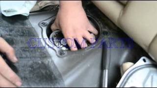 How To Install / Replace A Fuel Pump Assembly -- Back Seat (Copyright © Custom)