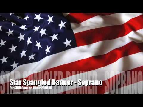 Star Spangled Banner - Soprano