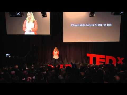 Revolutionising charity | Cassandra Treadwell | TEDxWellington