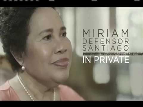 WATCH: LAST INTERVIEW OF SENATOR MIRIAM SANTIAGO BEFORE SHE DIED