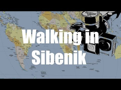 Walking in Sibenik, Croatia | GoPro Hero 4 Gimbal Feiyu | Virtual Trip