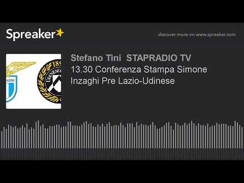 13.30 Conferenza Stampa Simone Inzaghi Pre Lazio-Udinese
