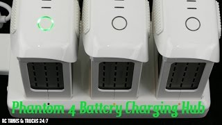 DJI Phantom 4 Battery Charging Hub - Hands On Review