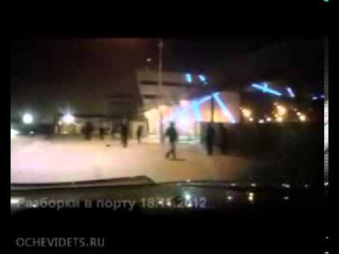shootout in Russian port  Russian mafia maybe    YouTube