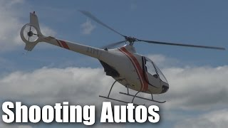 A Cabri G2 doing autorotations at Tokoroa Airfield (NZTO)