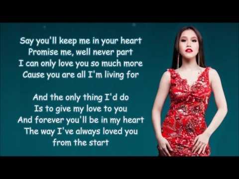 From the start - Rachelle Ann Go w/Lyrics