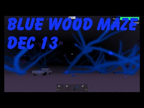 Blue Wood Maze Guide, Dec13 : Lumber Tycoon 2