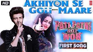 Pati Patni Aur Woh First Song : Akhiyon Se Goli Maare   Kartik A Ananya P  Pati Patni Aur Woh Songs