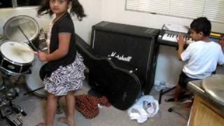 little indian kid musicians 1