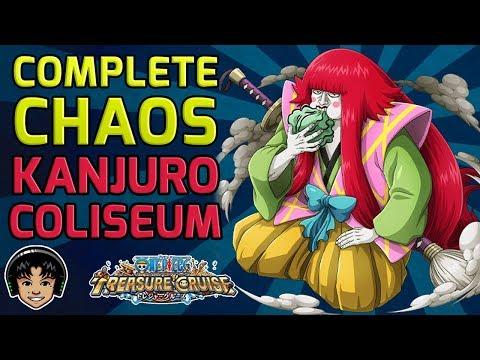 Walkthrough for Complete Chaos Kanjuro Global Coliseum [One Piece Treasure Cruise]