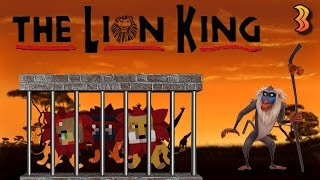 Minecraft Xbox: The Lion King {Lost in a Monkey Dungeon}
