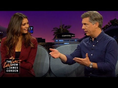 Speaking Bulgarian, Accents & Voice Warm-ups w/ Nina Dobrev & Chris Parnell