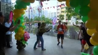 هذا الصباح- مسابقة خيرية في سنغافورة باستخدام فاكهة الدوريان