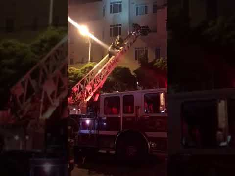 2nd Alarm SFFD 4th Floor Rescue adult female Saved