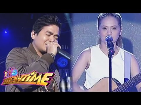 Jamming with Gloc-9 and Lirah Bermudez on It's Showtime