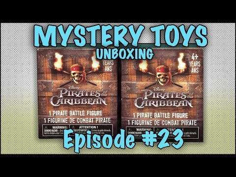 Thumbnail: MYSTERY TOYS! Episode #23 - Unboxing Pirates of the Caribbean Battle Figures
