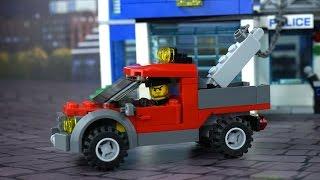Dibujo animado LEGO CitY Estación de policía 60047. Descripción del juego. LEGO CITY POLICE STATION
