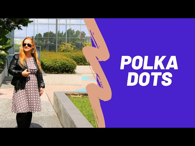 How to wear POLKA DOTS - a curvy midsize hourglass figure