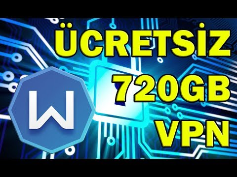 ÜCRETSİZ 1 YILLIK 720GB VPN - Windscribe