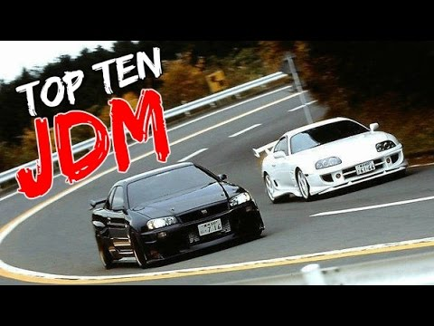 Top 10 Best JDM/Tuner Cars On Gran Turismo 6 [HSG Select]