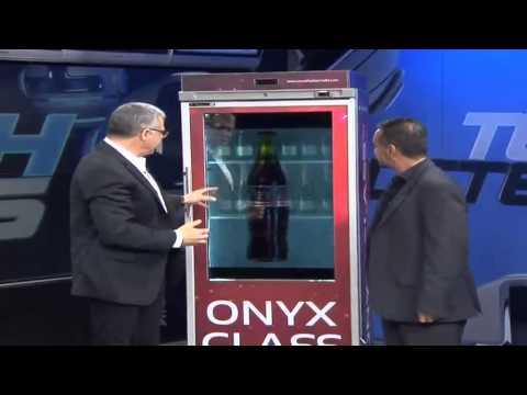 Onyx shows off glass-tech refrigerator