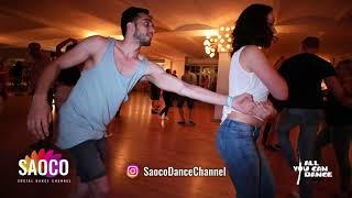 Satveer Anand and Olga Sa Salsa Dancing at Berlin Salsa Marathon 2018, Saturday 18.08.2018