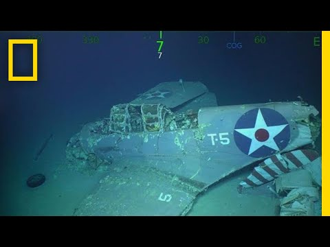 Wreckage of WWII Aircraft Carrier U.S.S. Lexington Found in