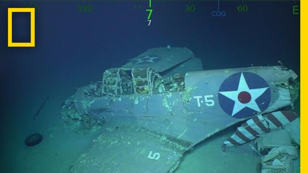 Wreckage Of Wwii Aircraft Carrier U S S Lexington Found