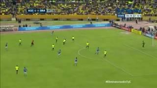 Ecuador 0-3 Brasil Eliminatorias Rusia 2018