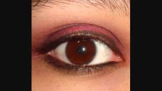 Red and Rusty Eye Tutorial -using the 88 palette from coastal scents- Thumbnail