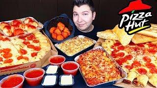 Entire Pizza Hut Menu • MUKBANG