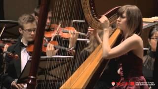 Ginastera Harp Concerto with Kristan Toczko