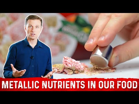 Metallic Nutrients In Our Food? Really?