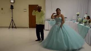 Emily Palma Quinceanera - Father Daughter Dance - Juju on that Beat /My Friends (We Get Turnt Up)