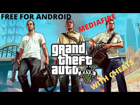 How To Download Gta 5 Android + Cheat🤑🤑 (mediafire)