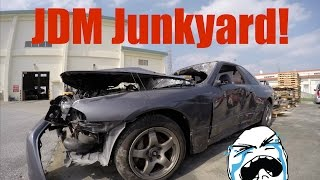 Japanese Junkyard | Where JDM Legends Go to Die