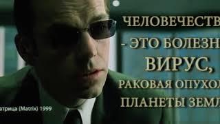 #nhr Матрица (Matrix) 1999 - 12 секунд отрывок человечество вирус!