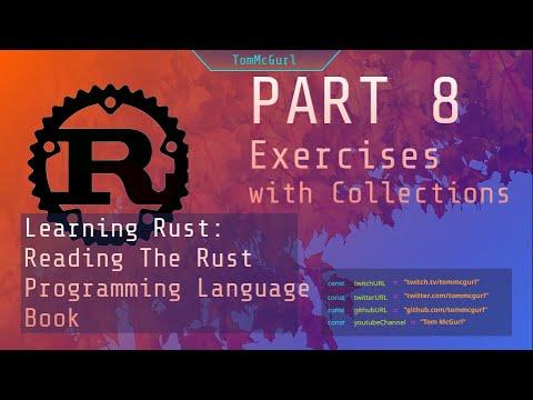 Rust: Exercises - Part 8